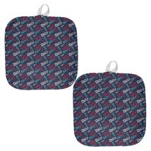 4th Of July Dilly Dilly Pattern Fireworks All Over Pot Holder (Set of 2) - $18.95