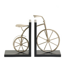 Office Bookends, Rustic Adjustable Bookends, Modern Charming Bicycle Boo... - £40.44 GBP