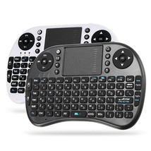 Ipazzport I8 2.4G Wireless Hebrew Version Rechargeable Mini Keyboard Tou... - $314,72 MXN