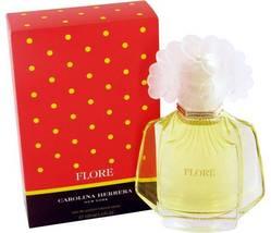 Carolina Herrera Flore Perfume 3.4 Oz  Eau De Parfum Spray  image 1