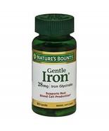 Nature's Bounty Gentle Iron 28 mg 90 Capsules - $14.01