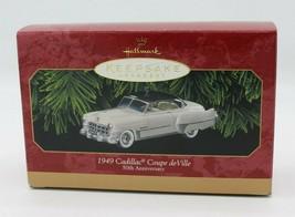 Hallmark Keepsake Ornament 1949 Cadillac Coupe deVille 50th Anniversary ... - $12.99