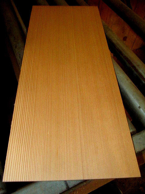 """OLD GROWTH SPRUCE THIN, KILN DRIED, SANDED LUMBER INSTRUMENT 24 X 10 X 1/2"""" WOOD"""