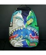 Rick & Morty Rick vs Zeep Backpack Sprayground Laptop Sun glass Pockets ... - $79.19
