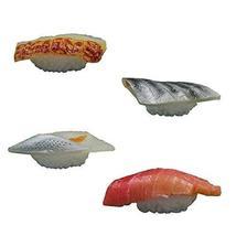 Set of 4 Artificial Lifelike Sushi Simulation Fake Food Home Shops Decor [K] - $18.25