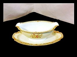 Noritake Japan China Gravy Boat 682 AB 337 Vintage