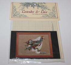 1989 Lavender & Lace Angel of Light Counted Cross Stitch Pattern Victori... - $11.39