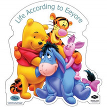 Walt Disney Winnie the Pooh Life According to Eeyore Desktop Standee NEW UNUSED - $11.64