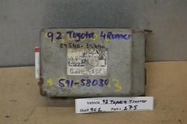 1992-1995 Toyota 4Runner ABS Braking System 8954035040 Module 75 9C1 - $19.79