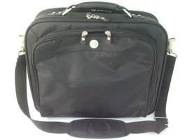 Dell Laptop Notebook Padded Carrying Case Shoulder Messenger Bag Black Nylon - $25.00