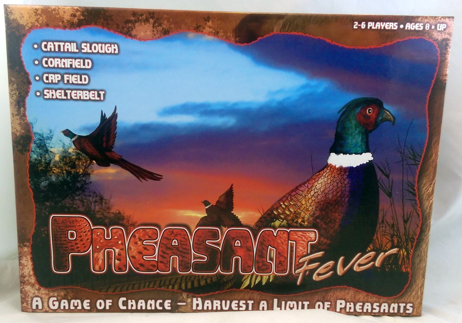 Primary image for Pheasant Fever Hunting Board Game ~ Harvest your trophy Bird 2008 Complete