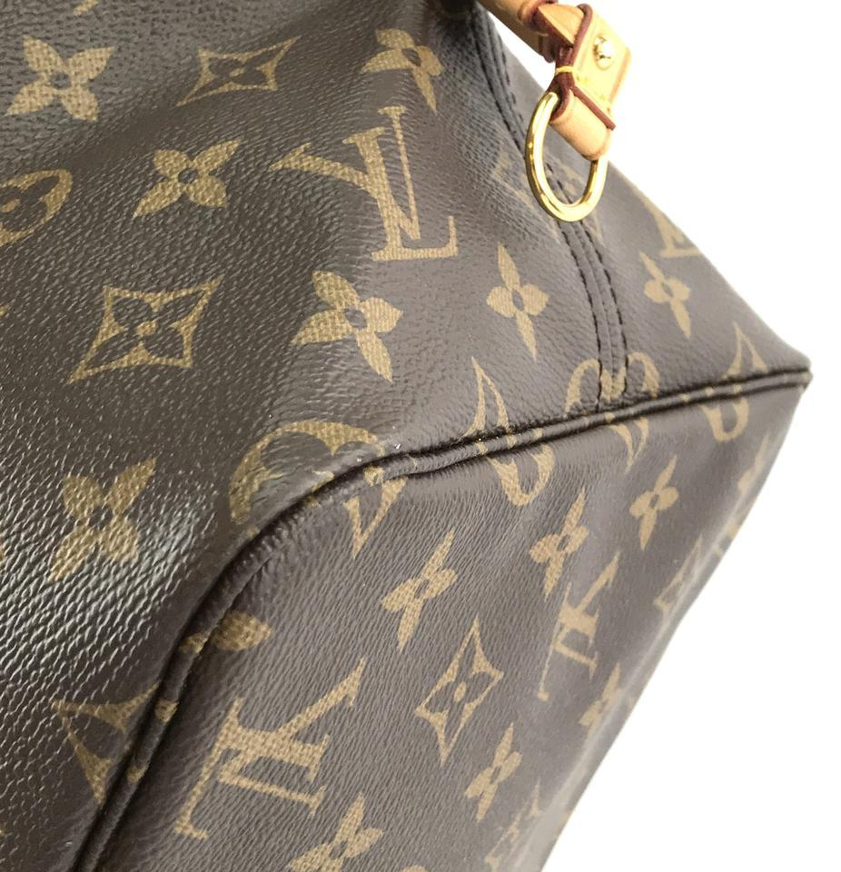 #32322 Louis Vuitton Neverfull Neo Nm Large Gm Tote Work Canvas Shoulder Bag image 11