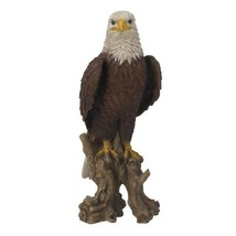 Pacific Giftware PT Realistic Look Statue Wildlife White Head Bald Eagle - $69.29