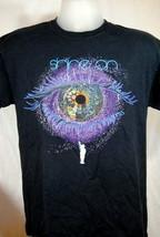 Tee Shirt Shine On Child Big Eye Balloon Graphic Medium Purple Black T-Shirt - $18.55