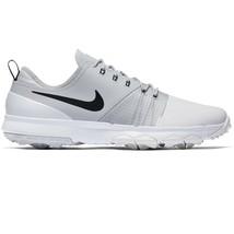 Nike FI Impact 3 (W) Summit White Black AH6960-100 Mens Golf Shoes WIDE - $74.95