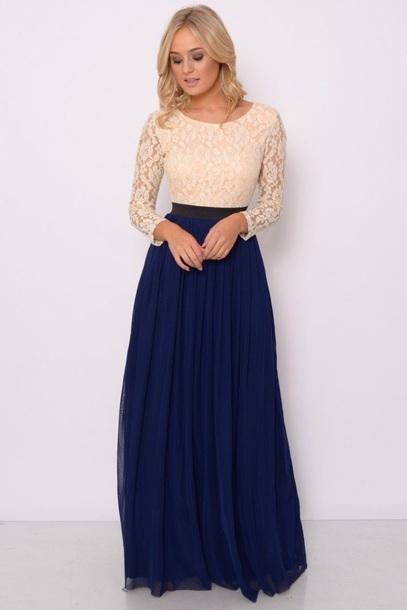 V6248g l 610x610 dress tone long dress navy b