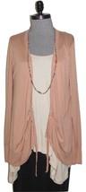 J. Crew womens Spring Cardigan Light Sweater XL Rayon Silk Knit Whisper ... - $38.47 CAD
