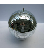 "D25cm glass rotating mirror disco ball 10"" disco DJ party lighting home ... - $45.00"