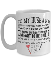 To my husband:mug for husband,special valentine gift for husband,to my h... - $18.95+