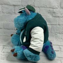 "Monsters Inc. 12"" Sully Plush w/ Varsity Jacket Disney Store Genuine Original image 6"