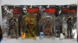 Mcfarlane Movie Maniacs Series 3 Lot Of 4 Thing Scissorhands Ash Snake f... - $111.85