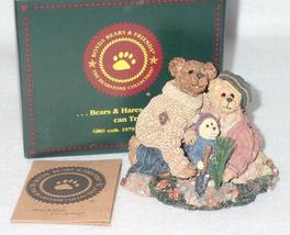 Boyd Bearstone Resin Bears Stephanie John & George Figurine #228348 1E image 3