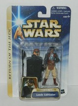 Star Wars Lando Calrissian Jabba's Sail Barge Action Figure 2004 #84743,... - $12.59