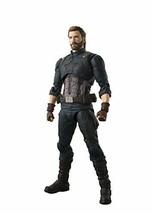 Bandai S.H.Figurines Avengers Infinité War Captain America de Japon - $85.39