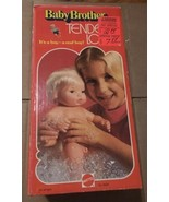"""Mint in Box 1975 Mattel 13"""" BABY BROTHER TENDER LOVE Doll  No 9524 - $96.99"""