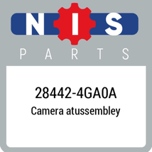 284424GA0A Nissan CAMERA ASSY, New Genuine OEM Part - $520.03