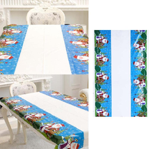 Christmas Tablecloth Kitchen Dining Table Decorations For Home Rectangul... - $7.99