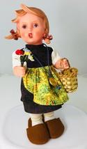 Hummel Doll Gretl by Goebel Series 1700 Vinyl + Clothes & Plastic Case T... - $48.37