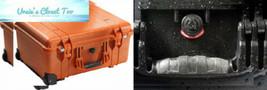 Pelican 1560 Case With Padded Dividers (Orange) Orange  - $352.95