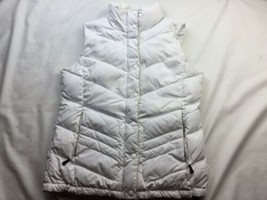 The North Face Women's NUPTSE 2 VEST 700 Fill Down White M FLAWS - $28.04
