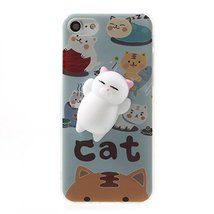 Google Pixel XL 2 Case,3D Poke Squishy Cat Seal Panda Polar Bear Squeeze... - $10.88
