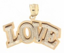 love Women's 10kt Yellow and White Gold Charm - $89.00