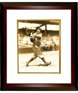 Goody Rosen signed Brooklyn Dodgers Vintage Sepia tone 8x10 Photo Custom Framed - €91,37 EUR