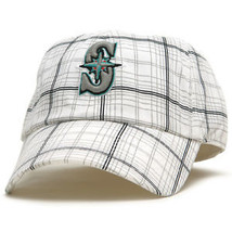 Seattle Mariners 47 Brand Twins Traffic Jam Fitted Cap Hat XL - $21.80