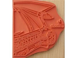 """Stamps Happen Inc """"Classic"""" Wood Mounted Rubber Stamp #50075 image 2"""
