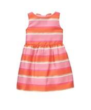 Janie and Jack Striped Dress Clementine Stripe Girl Youth Kids NEW NWT - $51.00