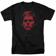 Dexter T-shirt Bloody Face graphic TV show printed cotton tee SHO359 Black  image 2