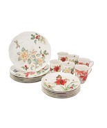 New Lenox Butterfly Meadow Holiday 18 piece Dinnerware Set, Service for 6 - $217.79