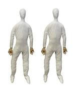 2-PC-Life Size Body-STUFFED POSEABLE DUMMY-Halloween Haunted House Holid... - $116.97