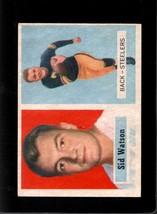 1957 Topps #75 Sid Watson Ex Rc Rookie Steelers *XR16593 - $2.25