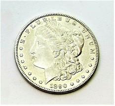1890 S MORGAN SILVER DOLLAR  CHOICE COIN MS++ #200090 - $54.45
