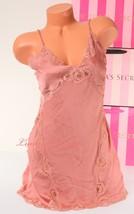 Nwd Vs Victoria's Secret Slip Chemise Strappy Babydoll Lingerie Silky M Medium - $17.99