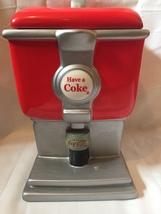 Coca-Cola Cookie Jar Have A Coke Dispenser - $26.06