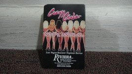 Riviera Hotel, Las Vegas, Crazy Girls playing cards - Riviera closed May... - $5.83