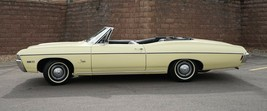 1968 Impala Butternut Yellow Poster 24x36 inch   wall decor - $18.99