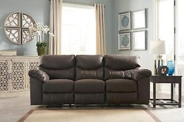 Ashley Boxberg 33803 Power Sofa in Teak Polyester upholstery Contemporary - $19.277,75 MXN
